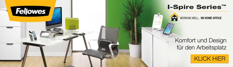 I-Spire: Komfort & Design für den Arbeitsplatz