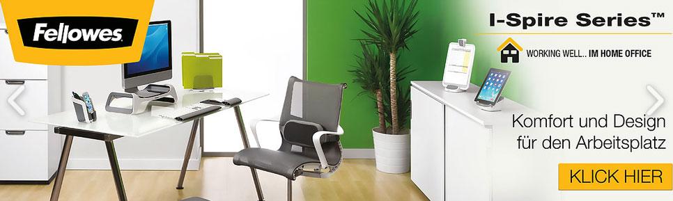 I-Spire - Komfort & Design für den Arbeitsplatz!